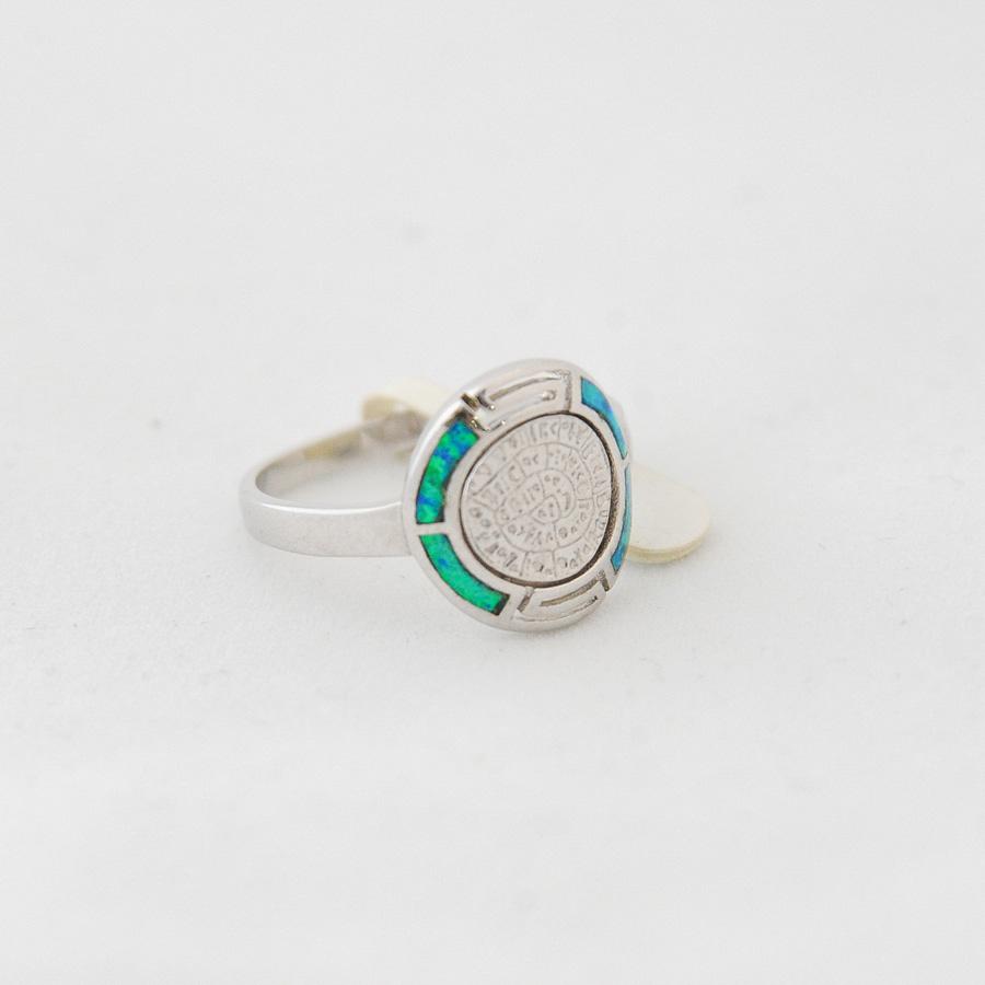 Δαχτυλίδι Δίσκος Φαιστού Μαίανδρος Οπάλ