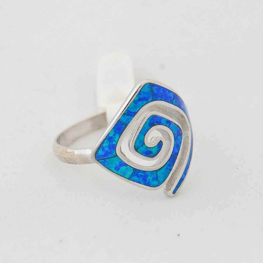 Δαχτυλίδι Μαίανδρος Μεγάλο Οπάλ