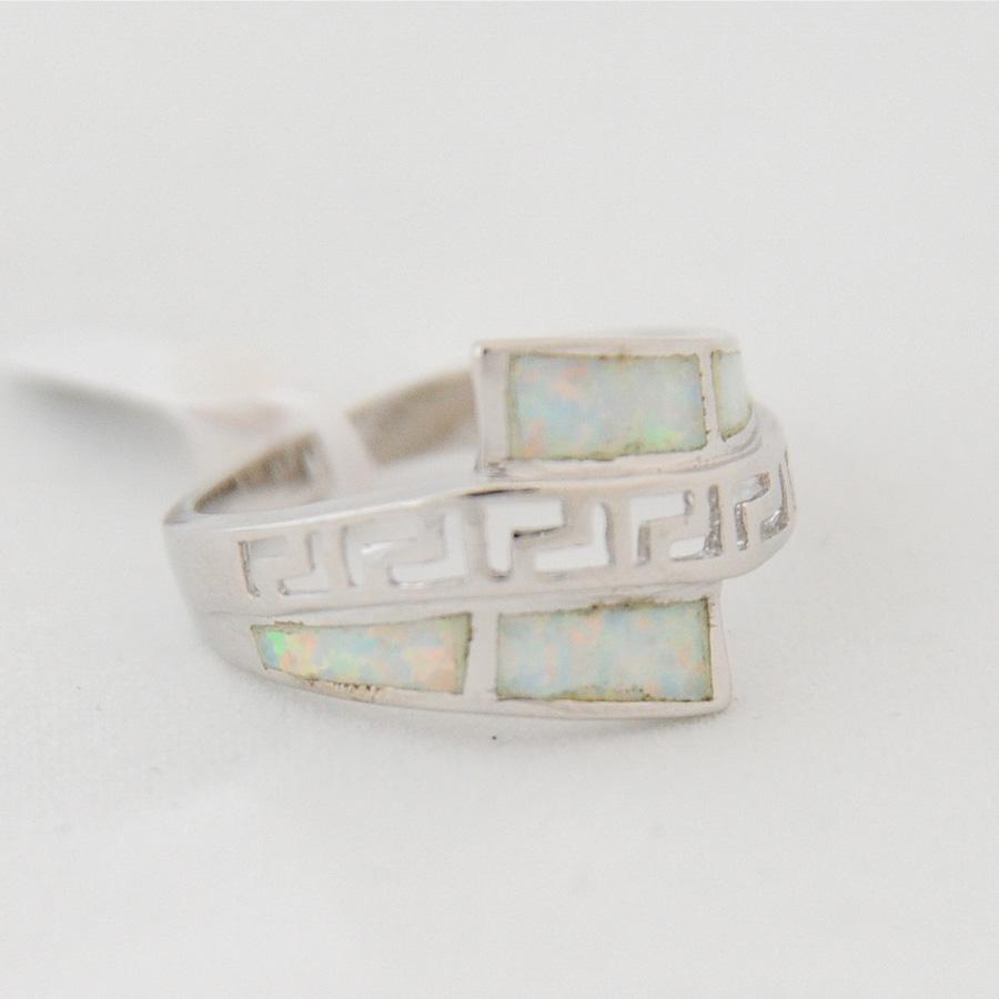 Δαχτυλίδι Μαίανδρος Λευκό Οπάλ