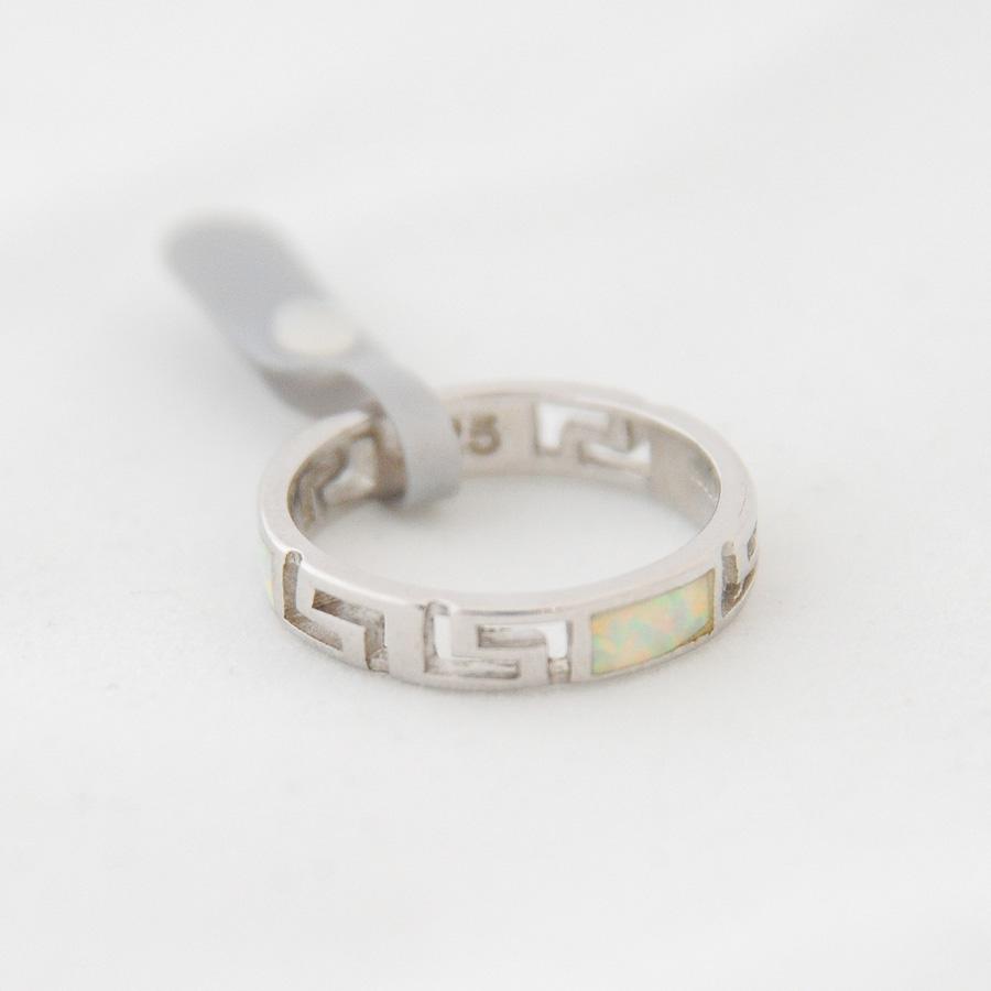 Δαχτυλίδι Τύπου Βέρα Μαίανδρος Οπάλ